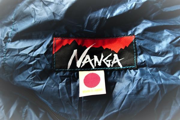 ナンガのオーロラライト600DX ロゴのマーク