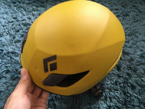 ブラックダイヤモンドベクターのヘルメット