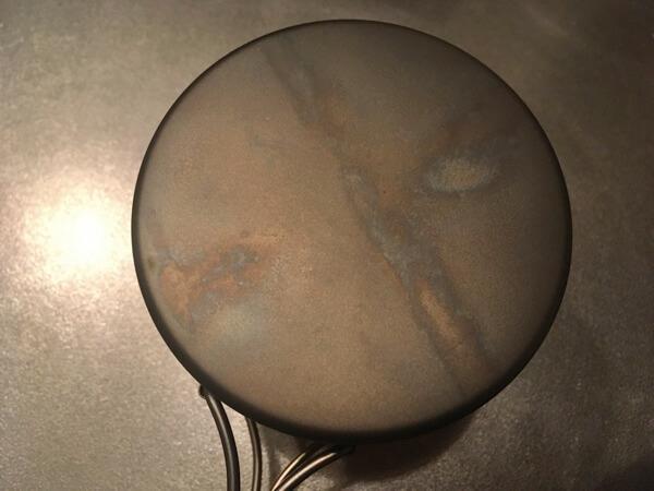 バーゴのチタニウムボットの底面の写真